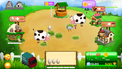 Chicken Frenzy Farm - Harvest & Farming Game screenshot one