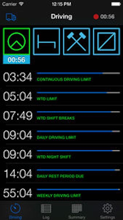 TruckerTimer screenshot-0