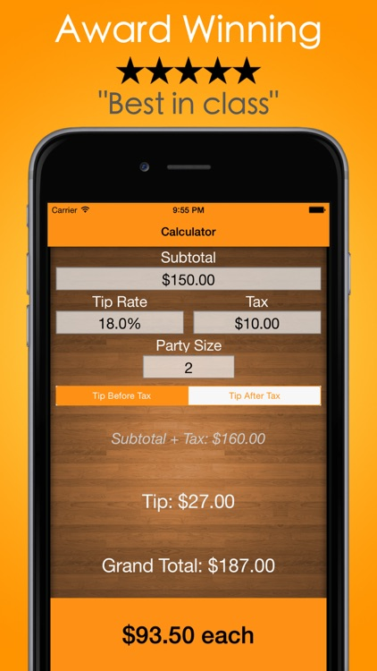 Tip Check Pro: Bill Calculator