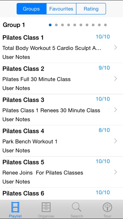 Pilates Class screenshot-1