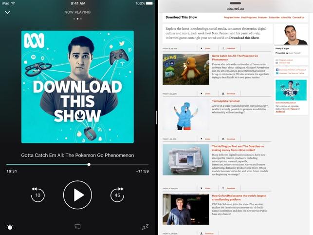 Pocket Casts Screenshot