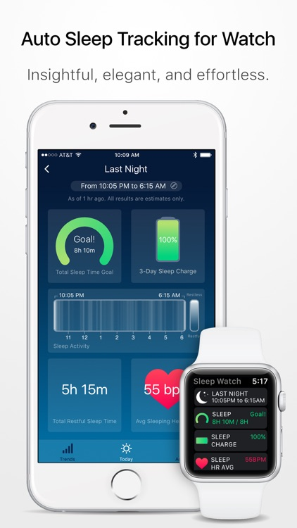 Sleep Watch - Auto sleep monitor using your watch app image