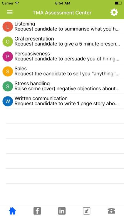 TMA Job Interview App screenshot-3