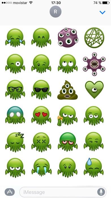 Cthulhu Emojis screenshot 1
