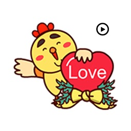 Fat Chicken Animated Stickers v1