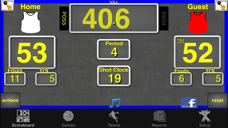 Ballers Basketball Scoreboard screenshot-0