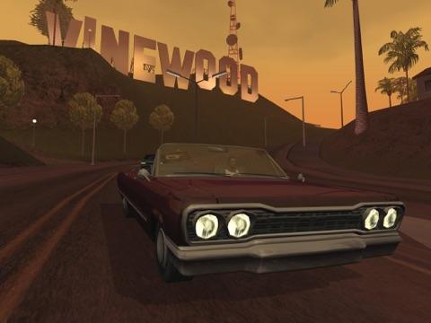 Grand Theft Auto: San Andreas ipad ekran görüntüleri
