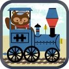 Zug-Spiele für Kinder: Zoo Eisenbahn Auto Puzzles icon