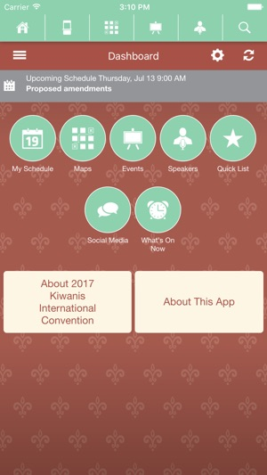 2017 Kiwanis International Convention on the App Store