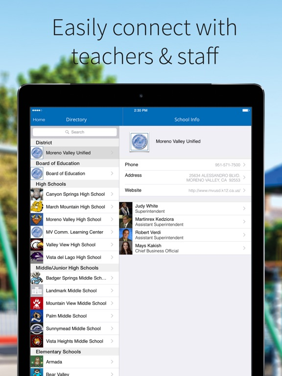 Moreno Valley Unified School District App Price Drops