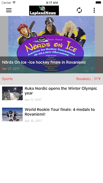 Lapland News screenshot four
