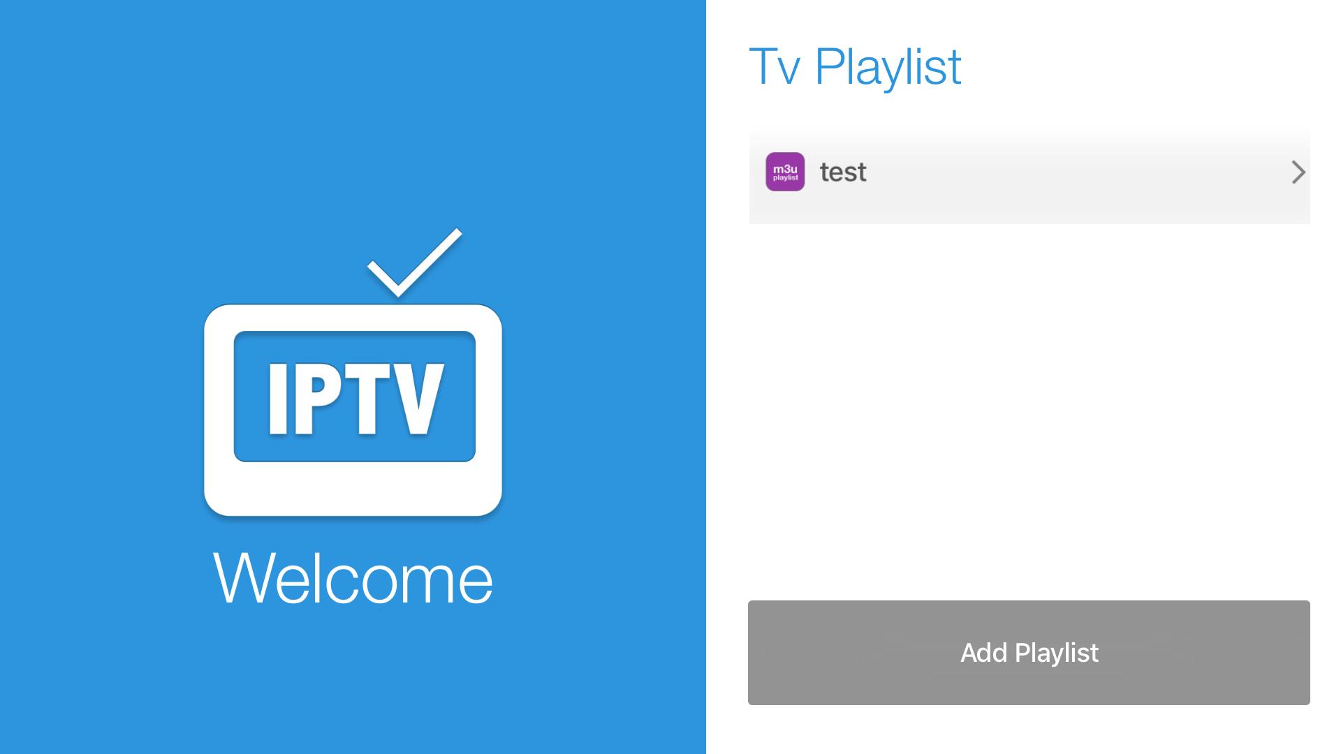 IPTV Easy - playlist m3u screenshot 1