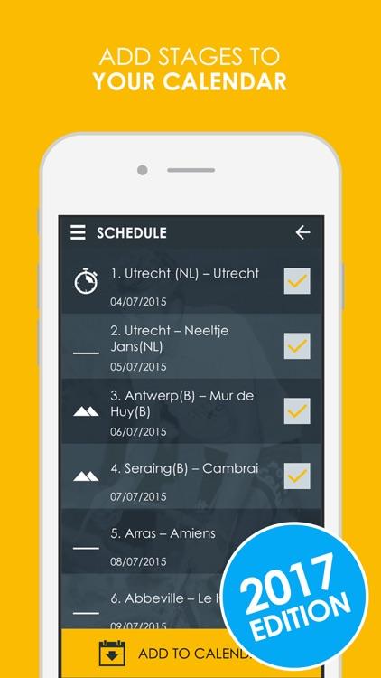 Cycling App - 2017 Live edition screenshot-3