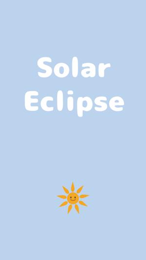 Solar Eclipse Cute Sun Emoji
