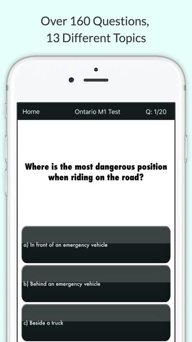 Ontario M1 Test screenshot two