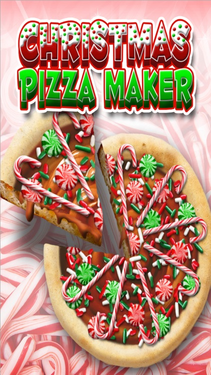 Christmas Candy Pizza Maker Dessert Chef Cooking