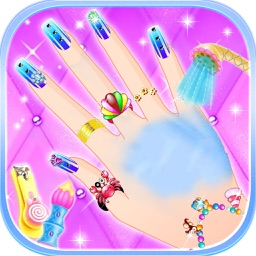 Princess Fashion Nail Salon - makeover games