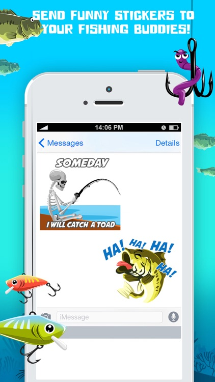 BassMoji – Pro Bass Fishing Emoji & Stickers Pro screenshot-3