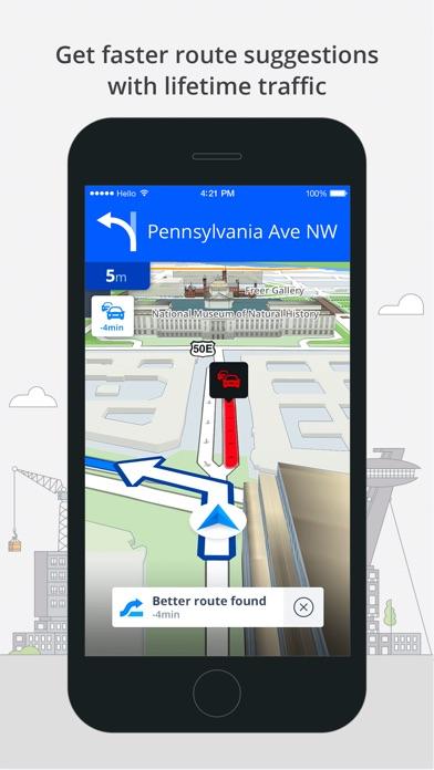 Screenshot #8 for Sygic Brazil: GPS Navigation, Offline Maps
