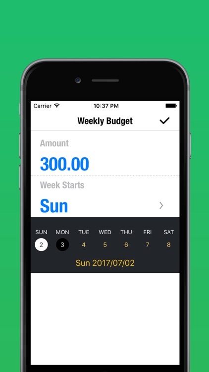 My Weekly Budget Planner - Money & Expense Tracker screenshot-3