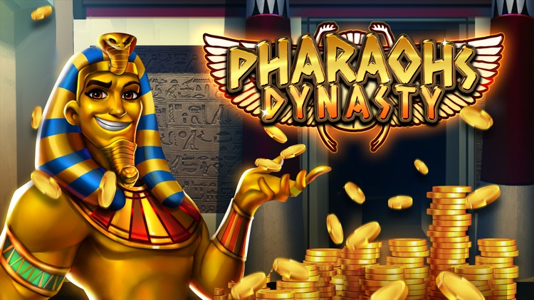 Pharaoh Slots - Pharaoh's Dynasty screenshot-0