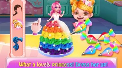 Rainbow Unicorn Cake MakerCaptura de pantalla de3