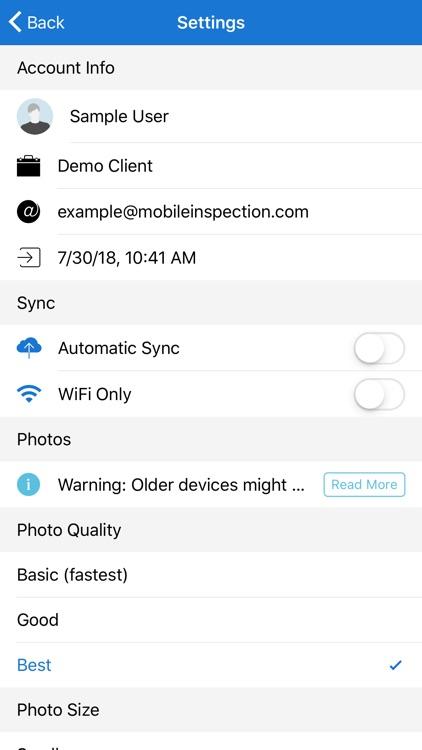 Mobile Inspection screenshot-5