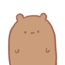 Blank Bear Stickers