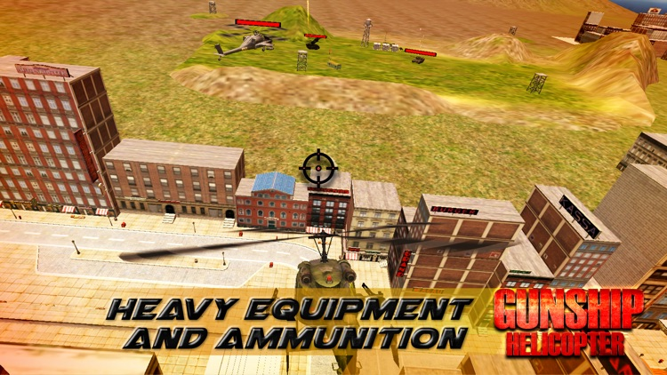 GunShip Helicopter screenshot-3