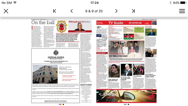 Gibraltar Chronicle Newspaper screenshot-3
