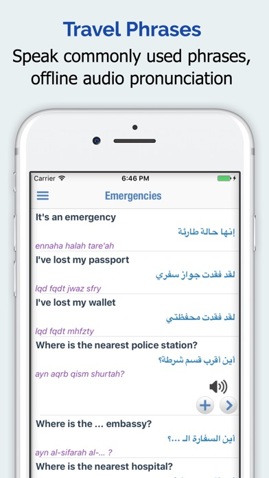 Arabic Dictionary + iPhone