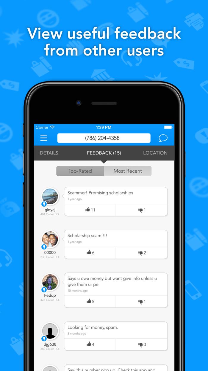 CallerSmart: Caller ID + Block Screenshot