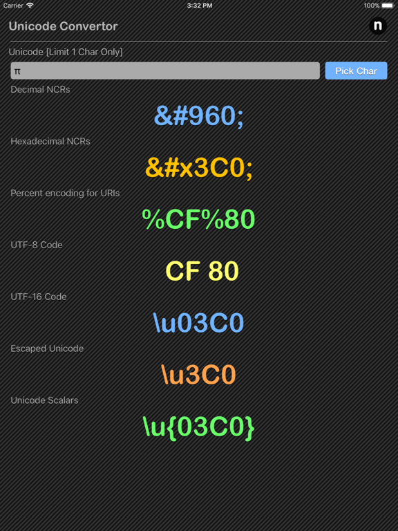 Unicode Converter Plus | App Price Drops