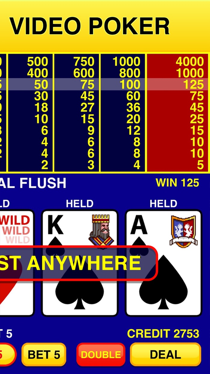 Video Poker Classic - 39 Games Screenshot