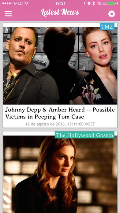iGossip News - Celebrity Rumors, Photos and Videos screenshot four
