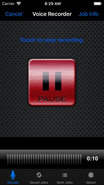 Voice Recorder Dictate screenshot-1