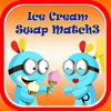 キャンディアイスクリームスワップMatch3ゲーム