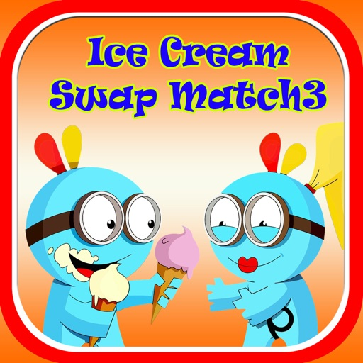 Candy Ice Cream Swap Match3 Game