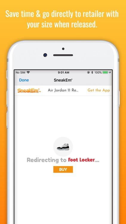 SneakEm' - Sneaker Releases