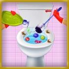 洗面所の清掃ゲーム icon