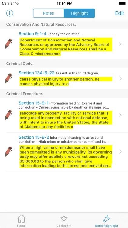 NJ Code Of Criminal Justice screenshot-4