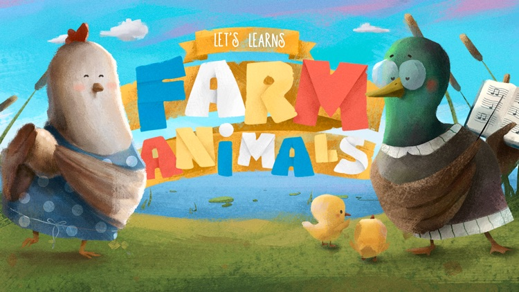 Let's Learn: Farm Animals screenshot-4