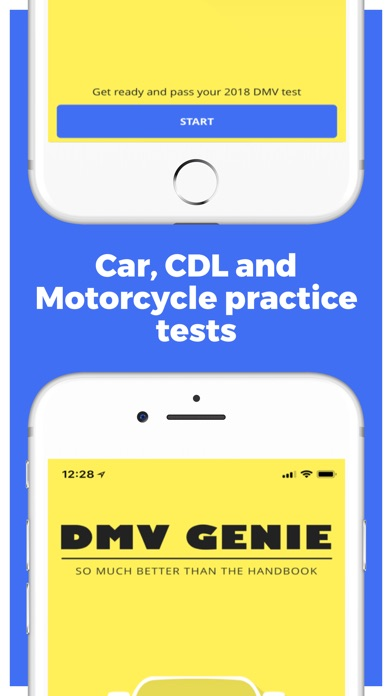 Screenshot for DMV Genie Permit Practice Test in United States App Store