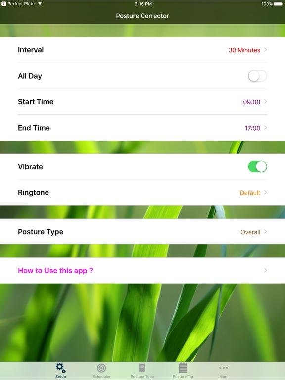 Posture Corrector Screenshots