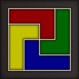 Four Color Shape Puzzle
