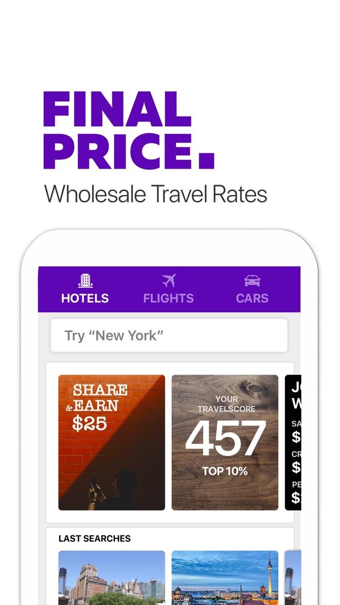 FinalPrice Hotel, Flight, Car Screenshot