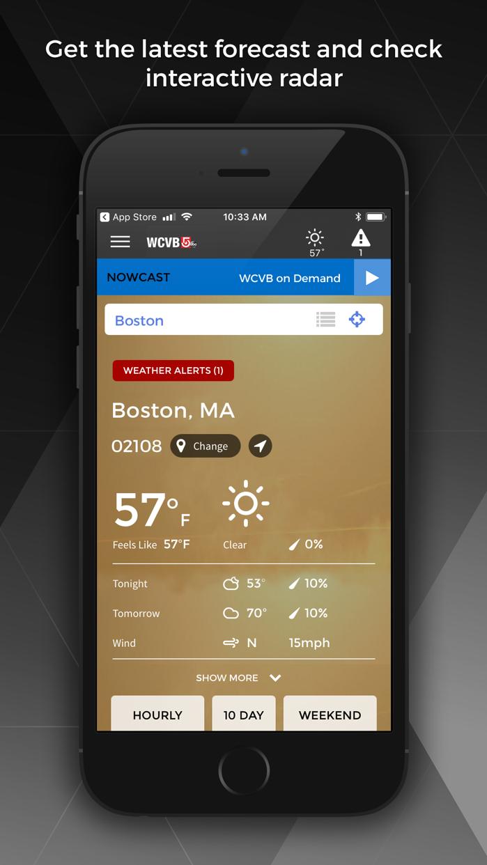 WCVB NewsCenter 5 - Boston Screenshot