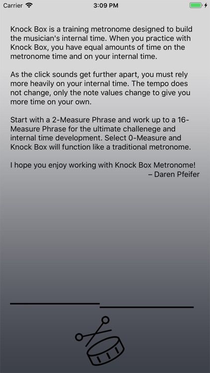 Knock Box Metronome screenshot-4