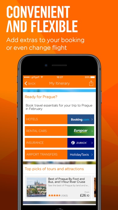 easyJet: Travel App for Windows