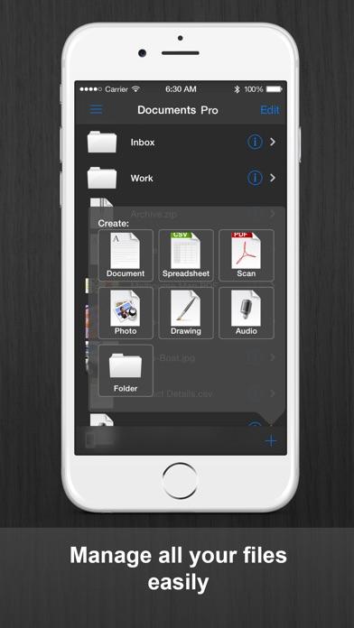 書類プロ Documents Pro ScreenShot0